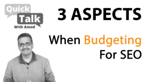 3 Aspects When Budgeting For SEO or Online Marketing for Your Business in 2019-20