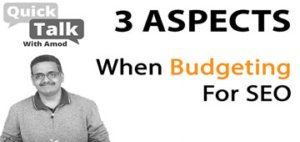 What Are The Top 3 Aspects When Budgeting For SEO Of Your Business?