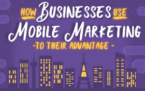 How Businesses Use Mobile Marketing to Their Advantage (Infographic)