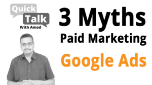 3 Myths About Google AdWords Paid Marketing