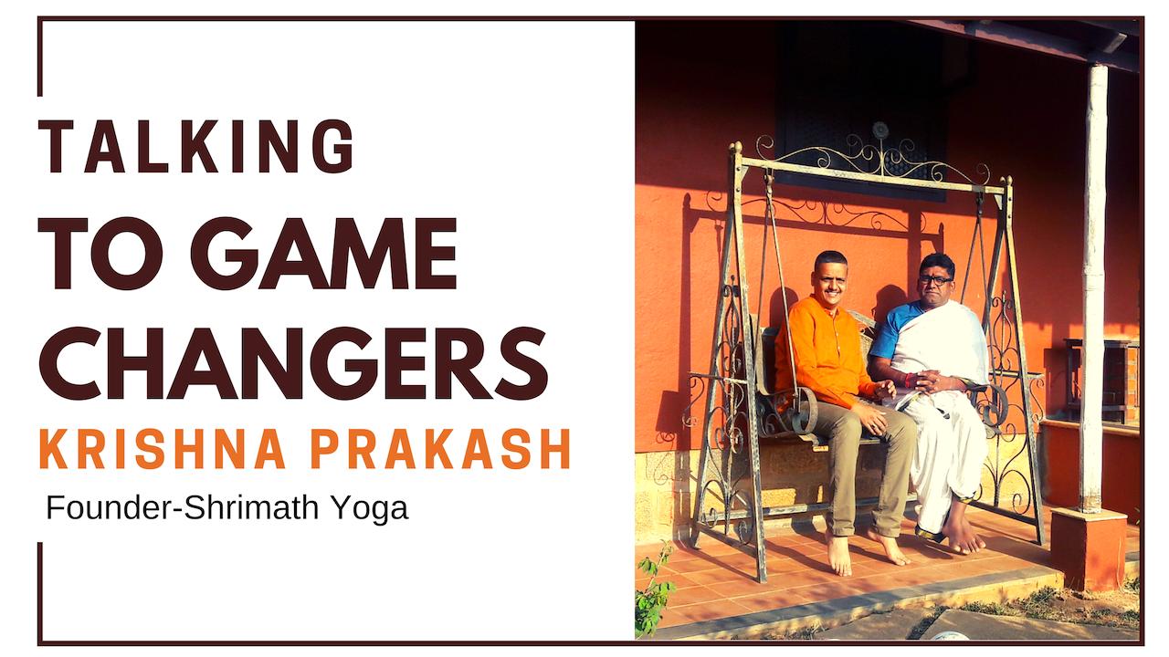 Krishna Prakash - Yoga With Vedic Living Traditions At Shrimath Yoga School
